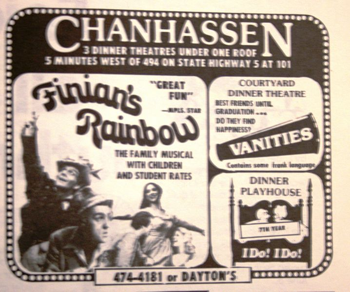 Image:1968exhibit--1977 finian's rainbow.jpg