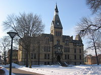 Image of Old Main at Hamline University, Saint Paul, Minnesota