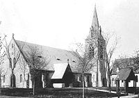 St. Clement's Church, c. 1905 - Minnesota Historical Society Photograph