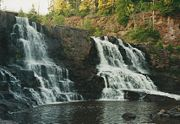 Gooseberry Middle Falls, 2003.